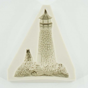 Cobbled Lighthouse Sea Summer Beach Themed Silicone Mould