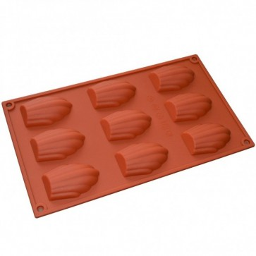 Madeleine Cakes Silicone Mould Chocolate Cake Reusable Baking Ice Icing Cupcake