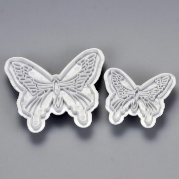 Pair of Butterfly Embossing Stamps