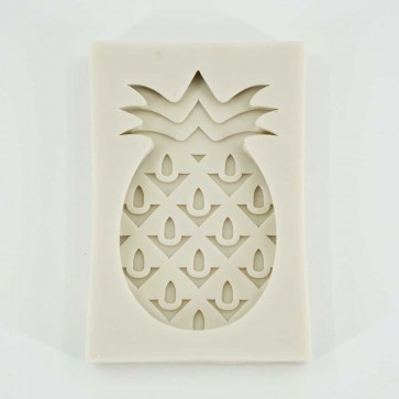 Pineapple Fruit Silicone Mould Cake Emboss Fondant Chocolate Icing Cupcake