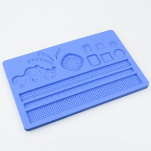 Various Shapes Multi Mat Silicone Mould
