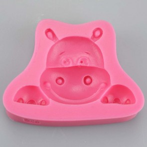 Happy Hungry Hippo Silicone Mould