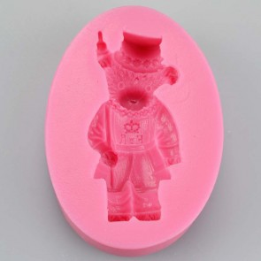 Beefeater Teddy Bear Silicone Mould