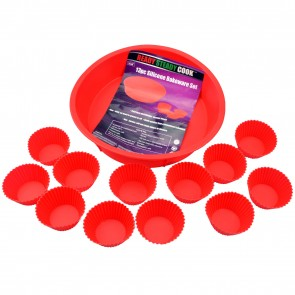 BBC Ready Steady Cook 13-piece Silicone Bakeware Set