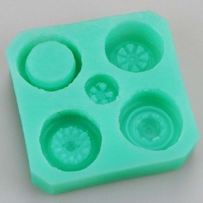 Vehicle Tyre Wheel Impressions Silicone Mould