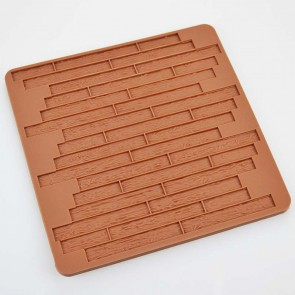Wood Grain Impression Silicone Mould Mat
