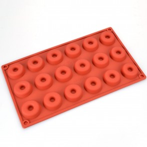 18 Cavity Doughnut Silicone Mould