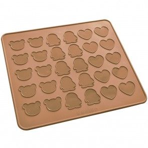 Bear Penguin Heart Silicone Macaron Macaroon Mat Oven Baking Liner Sheet Cookie