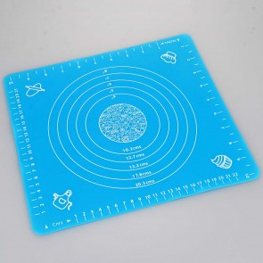 Blue Silicone Pastry Cake Decorating Rolling Mat (29cm x 26cm)