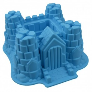 Childrens Castle Birthday Cake Silicone Baking Mould Jelly Fondant Sugarcraft