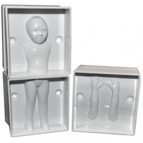 3D Child Human Figure Body Mould People Person Fondant Decorating Sugarcraft Kid