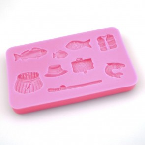 Fishing Themed Silicone Mould