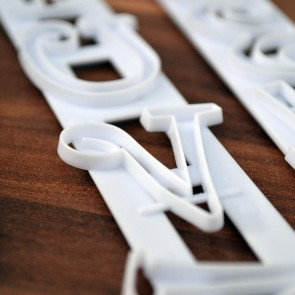 Alphabet & Number Cutters Set
