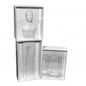 3D Man Human Figure Body Mould People Person Fondant Decorating Sugarcraft Mold