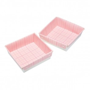 Pack of 2 Square Marshmallow Rocky-road Flapjack Cake Pans