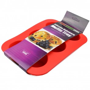 BBC Ready Steady Cook 6 Muffin Silicone Cake Mould