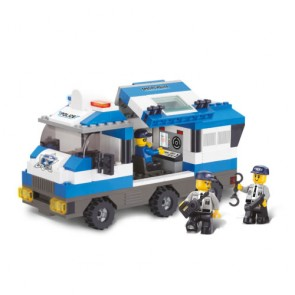 Sluban Police SWAT Command Vehicle Building Bricks Set (253 Pieces)