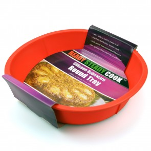 BBC Ready Steady Cook Round Silicone Cake Mould 21cm