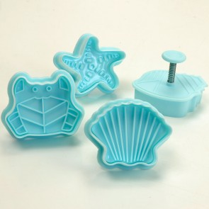 Sea Shells Beach Holiday Themed Cookie Cutters