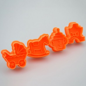 Baby Celebration Themed Cookie Cutters