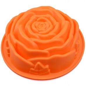 Large 23.5cm Rose Flower Cake Silicone Baking Mould Chocolate Fondant Sugarcraft