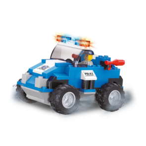 Sluban Police S.W.A.T Attack Car Building Bricks Set (121 Pieces)